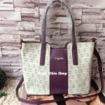 กระเป๋าแฟชั่น Pierre Cardin Paris Tote Bag มี 2 สี น้ำตาล ม่วง