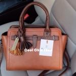 กระเป๋าแฟชั่น Massimo Dutti สีน้ำตาล