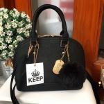 กระเป๋าแฟชั่น KEEPBAG ทรง louis alma สีดำ รุ่นใหม่ล่าสุด