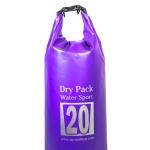 กระเป๋ากันน้ำ Dry pack 20L-สีม่วง
