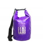 กระเป๋ากันน้ำ Dry pack 10L-สีม่วง