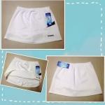 กระโปรง(กางเกง) กีฬา สีขาว