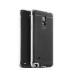 IPAKY Case Samsung Galaxy Note 4 (Silver)