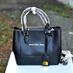 กระเป๋าแฟชั่น ZARA CITY BAG WITH ZIP มี 2 สี ดำ, เทา