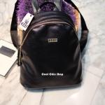 กระเป๋าเป้ KEEP รุ่น leather zip bagpack