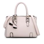 พร้อมส่ง กระเป๋าถือและสะพายข้าง กระเป๋าหรูคุณนายแฟชั่นเกาหลี Sunny-682 แท้ สีขาว