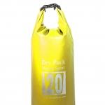 กระเป๋ากันน้ำ Dry pack 20L-สีเหลือง