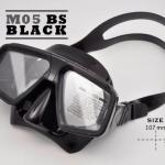 หน้ากากซิลิโคน M05BK - สีดำ