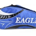 กระเป๋า Eagle ใบกลางสีน้ำเงินลายขาว