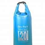 กระเป๋ากันน้ำ Dry pack 20L-สีฟ้า