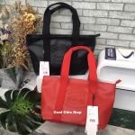 กระเป๋าแฟชั่น LACOSTE TOTE BAG WITH ZIP มี 2 สี ดำ แดง