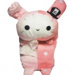 WASABI ตุ๊กตาเก็บทิชชูในรถ ลายน่ารัก (สีชมพู) ฟรีกระดาษทิชชู 1 pack