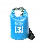 กระเป๋ากันน้ำ Dry pack 3L- สีฟ้า