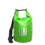กระเป๋ากันน้ำ Dry pack 10L-สีเขียวตอง