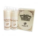 Tester Skinfood Blanc Pearl carviar gift set บำรุงลดเลือนและปกป้องริ้วรอย จุดด่างดำช่วยให้ผิวหน้าดูกระจางใส
