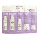 10 ซอง - Tester Etude toning white c trial kit 5items