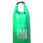 กระเป๋ากันน้ำ Dry pack 20L-สีเขียวแอปเปิ้ล