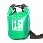 กระเป๋ากันน้ำ Dry pack 1.5L- สีเขียวอแปเปิ้ล
