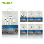 ROMIX USB charger magig speed 4 in one