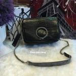 กระเป๋าแฟชั่น ZARA CROC-EFFECT CROSSBODY BAG