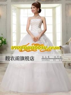 ชุดแต่งงานราคาถูก กระโปรงสุ่ม ws-082 pre-order
