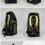 กระเป๋า Eageka แบคแพคใบใหญ่ สีเหลืองดำ thumbnail 3