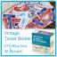 Vintage Ticket Sticker [VTS-Blue bird] thumbnail 1