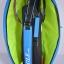 กระเป๋า Eagle ใบกลางสีฟ้าลายเขียว thumbnail 5