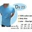 COTTON100% เบอร์20 เสื้อยืดแขนสั้น คอกลม สีฟ้าอ่อน thumbnail 1