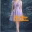ชุดแต่งงาน [ ชุดพรีเวดดิ้ง ] PD-039 กระโปรงสั้น สีม่วง (Pre-Order) thumbnail 1