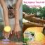 สบู่ จินซู เมือกหอยทากฟองยืด GinZhu Body Whitening mask soap พอกผิวขาว เพิ่มความขาว 10 ระดับ กล่องสีเหลือง ก้อนเหลือง thumbnail 4