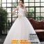 ชุดแต่งงานราคาถูก กระโปรงสุ่ม ผาดไหล่ขวา ws-064 pre-order thumbnail 1