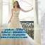 ชุดแต่งงาน แบบเกาะอก w-062 Pre-Order thumbnail 1