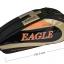 กระเป๋า Eagle ใบกลางสีดำ/ทอง/ส้ม thumbnail 1