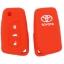 WASABI ซิลิโคนกุญแจ Toyota Altis 2014,Revo (สีแดง) แถมฟรี ผ้าไมโครไฟเบอร์ อย่างดี 1 ผืน thumbnail 2