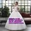 ชุดแต่งงานราคาถูก แบบสุ่ม ws-006 pre-order thumbnail 1