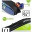 กระเป๋า Eagle ใบกลางหนังแก้วสีน้ำเงิน/เขียว/ขาว thumbnail 4