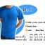 COTTON100% เบอร์20 เสื้อยืดแขนสั้น คอกลม สีฟ้าทะเล thumbnail 1