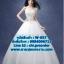 ชุดแต่งงาน แบบเกาะอก w-057 Pre-Order thumbnail 1