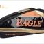 กระเป๋า Eagle ใบกลางสีดำ/ทอง/ส้ม thumbnail 2