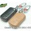 WASABI กุญแจซองหนัง 4DX Luxurious Honda Crv 4WD 2014 (ดำ) thumbnail 3