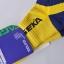 ถุงเท้ากีฬาข้อสั้นสีเหลือง thumbnail 2