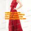 ชุดแต่งงาน [ ชุดพรีเวดดิ้ง ] PD-049 กระโปรงยาว สีแดง (Pre-Order) thumbnail 1