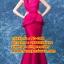 ชุดแต่งงาน [ ชุดพรีเวดดิ้ง ] PD-048 กระโปรงยาว สีชมพูเข้ม (Pre-Order) thumbnail 1
