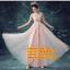 ชุดแต่งงาน [ ชุดพรีเวดดิ้ง ] PD-016 กระโปรงยาว สีชมพู (Pre-Order) thumbnail 1