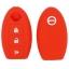 WASABI ซิลิโคนกุญแจ Nissan March,Juke,Tida,Paulsa (สีแดง) แถมฟรี ผ้าไมโครไฟเบอร์ อย่างดี 1 ผืน thumbnail 2
