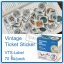 Vintage Ticket Sticker [VTS-Label] thumbnail 1