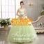 ชุดพรีเวดดิ้ง กระโปรงประดับดอกไม้-สีเขียว APD-2017-020 (Pre-Order) เกรด Premium thumbnail 1