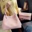 พร้อมส่งกระเป๋าผู้หญิงสะพายใบใหญ่ แฟชั่นเกาหลี เช็ต 2 ใบ TIANCAI BAG รหัส C-236-2 สีชมพู thumbnail 1