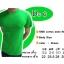 COTTON100% เบอร์20 เสื้อยืดแขนสั้น คอกลม สีเขียวไมโล thumbnail 1